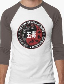 CLASSIC KUNG FU MOVIE THE 5 DEADLY VENOMS SHAOLIN SQUAD T-SHIRT Men's Baseball ¾ T-Shirt