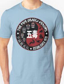 CLASSIC KUNG FU MOVIE THE 5 DEADLY VENOMS SHAOLIN SQUAD T-SHIRT Unisex T-Shirt