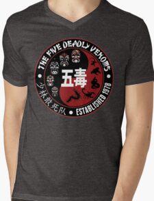 CLASSIC KUNG FU MOVIE THE 5 DEADLY VENOMS SHAOLIN SQUAD T-SHIRT Mens V-Neck T-Shirt