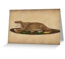 Charassognathus gracilis - the oldest known cynodont Greeting Card