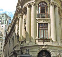 Santiago Stock Exchange Building Sticker