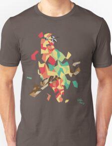 Parrot explosion Unisex T-Shirt