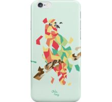 Parrot explosion iPhone Case/Skin