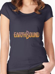 Earthbound: Title Women's Fitted Scoop T-Shirt