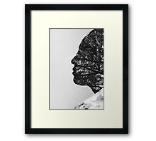 roots of tree Framed Print