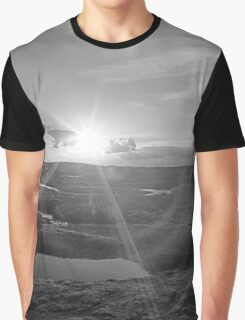 Sunset on Arabia Mountain Graphic T-Shirt