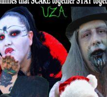 UZA Zombies Sticker