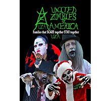 UZA Zombies Photographic Print