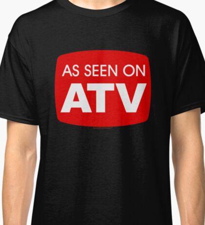 As Seen on ATV - Funny Quad Logo Classic T-Shirt