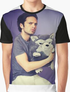 Sebastian stan and wolf plushie  Graphic T-Shirt