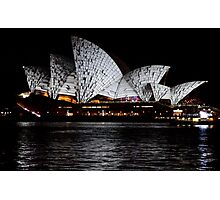 Vivid 2016 Opera House 1 Photographic Print
