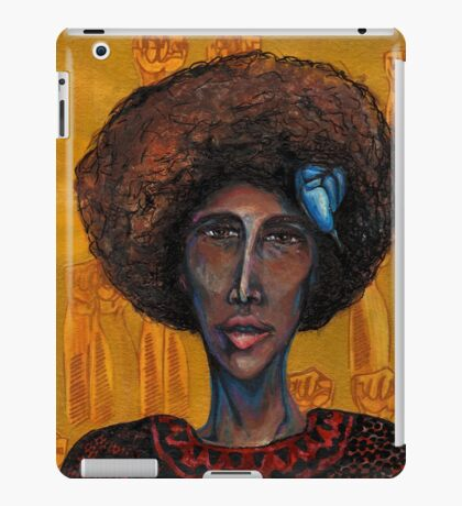 Young Lords Party - Denise Portrait iPad Case/Skin
