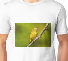 Female Yellow Warbler Unisex T-Shirt