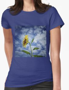 Reach for the sky - Let nothing deter you Womens Fitted T-Shirt