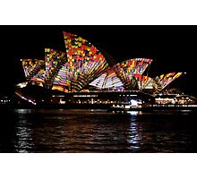 Vivid 2016 Opera House 2 Photographic Print
