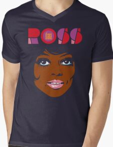 Diana Ross Mens V-Neck T-Shirt