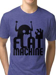 Flat Machine Tri-blend T-Shirt