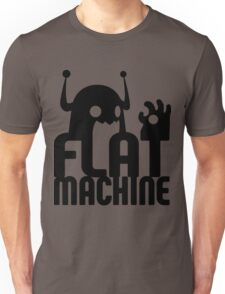Flat Machine Unisex T-Shirt