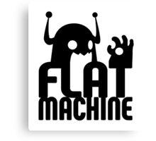 Flat Machine Canvas Print