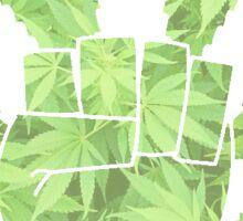 Pot Leaf Sticker