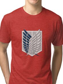 Attack On Titan - Survey Corp Tri-blend T-Shirt