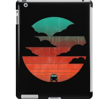 driving into the sunset iPad Case/Skin