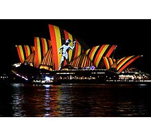 Vivid 2016 Opera House 4 Photographic Print