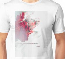 words by rumi Unisex T-Shirt