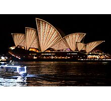 Vivid 2016 Opera House 5 Photographic Print