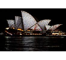 Vivid 2016 Opera House 6 Photographic Print