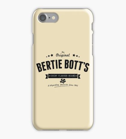 Bertie Bott's Every Flavour Beans iPhone Case/Skin