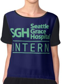 Grey's Anatomy - Intern Chiffon Top