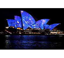 Vivid 2016 Opera House 7 Photographic Print