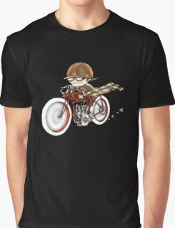 MOTORCYCLE EXCELSIOR STYLE (RED BIKE) Graphic T-Shirt