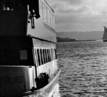 Boat Docked - San Diego | 35mm Film Sticker