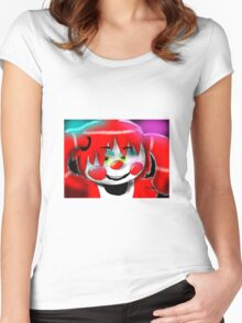 Fnaf sister location- baby Women's Fitted Scoop T-Shirt