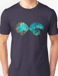 Green Galaxy Mermaid Unisex T-Shirt
