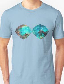 Green Galaxy Mermaid Unisex T-Shirt