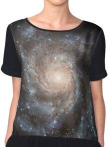 Pinwheel Galaxy M101 Chiffon Top