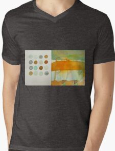 paperbag abstract Mens V-Neck T-Shirt
