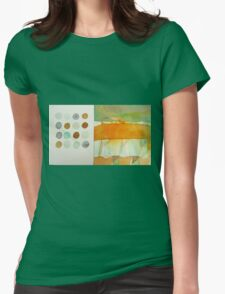 paperbag abstract Womens Fitted T-Shirt