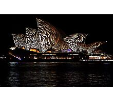 Vivid 2016 Opera House 10 Photographic Print