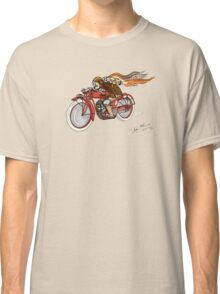 INDIAN MOTORCYCLE STEAMPUNK STYLE Classic T-Shirt