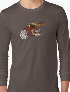 INDIAN MOTORCYCLE STEAMPUNK STYLE Long Sleeve T-Shirt