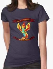 Like A Phoenix Womens Fitted T-Shirt