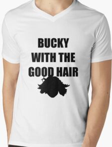 BUCKY WITH THE GOOD HAIR Mens V-Neck T-Shirt