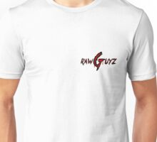 Raw Guyz Logo Text Unisex T-Shirt