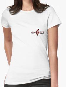 Raw Guyz Logo Text Womens Fitted T-Shirt