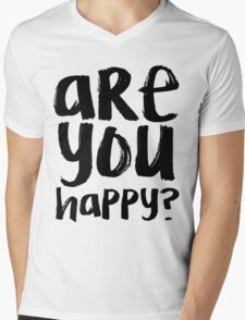 Bo Burnham - Are You Happy? Mens V-Neck T-Shirt