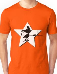 Super Chicken silhouette Unisex T-Shirt